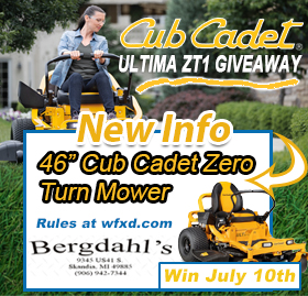 Win a Cub Cadet Mower