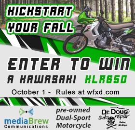 Win a Kawasaki Motorcycle