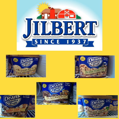 Cool Off with Jilbert Dairy 48 oz. Dean Ice Cream