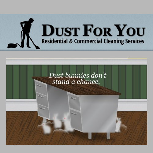 Dust For You $50 certificate for Residential or Commercial Cleaning