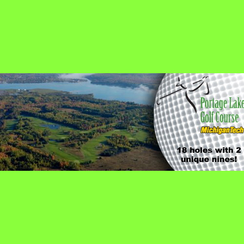 Portage Lake Golf Course 18 Holes of Golf for Two People - No Cart