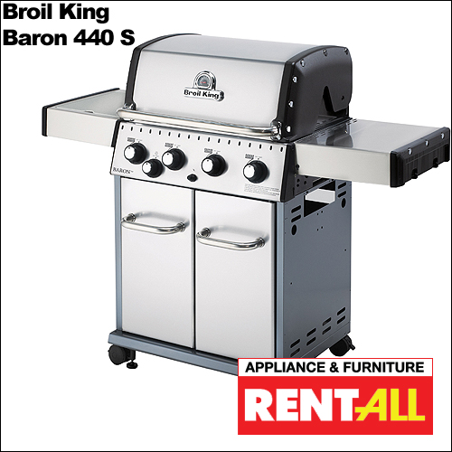 Appliance & Furniture Rent All - Broil King 'Baron 440 S Grill'