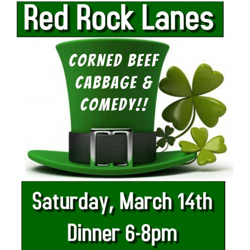 Red Rock Lanes Couples Dinner & Comedy Night