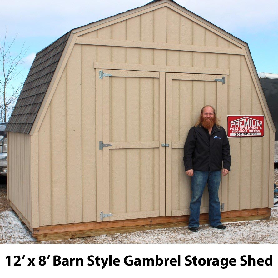 New Shed from Premium Pole Buildings & Storage Sheds
