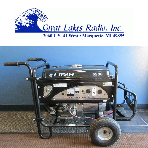 SAVE on a 6,500 watt Industrial Camp Generator at UP Bargains