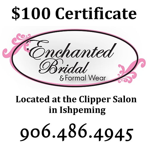 $100 Certificate Toward Bridal Gowns Only