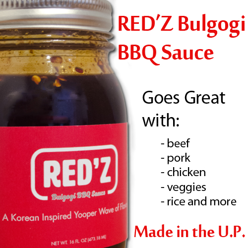 16 fl. oz. Red'z Bulgogi BBQ Sauce