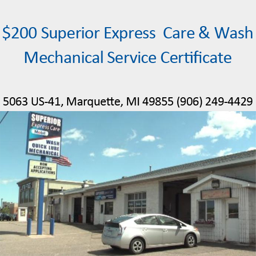 $200 Mechanical Service Certificate