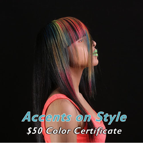 $50 Color Certificate