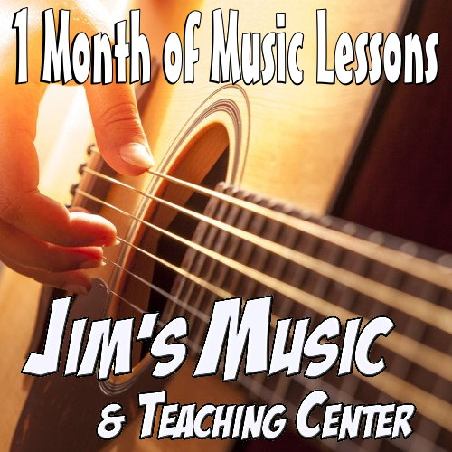 1 Month Music Lessons - Marquette Only