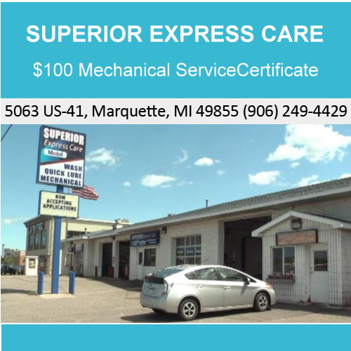 $100 Mechanical Service Certificate